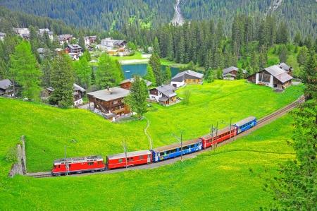 narrow gauge railway: Narrow gauge railway  Switzerland