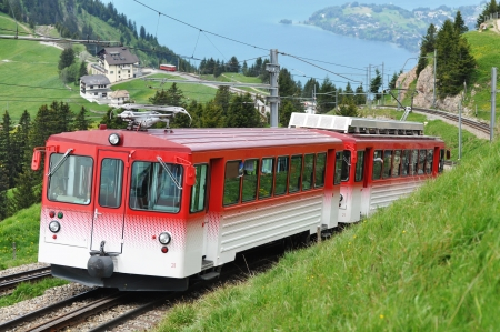 Narrow gauge railway  Switzerland