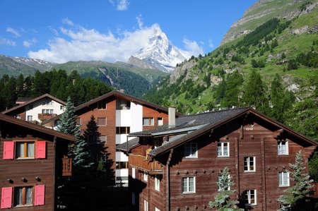 Zermatt and Matterhorn  Switzerland