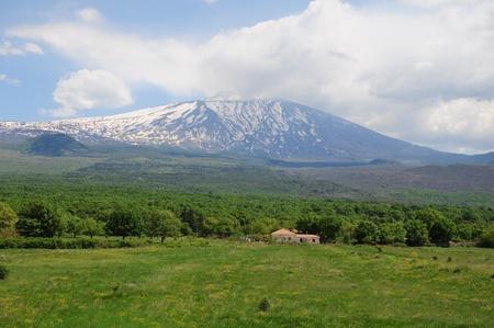 Volcano &quot,Etna&quot,. Sicily. Italy.