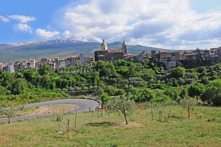 Volcano Etna. Sicily. Italy.
