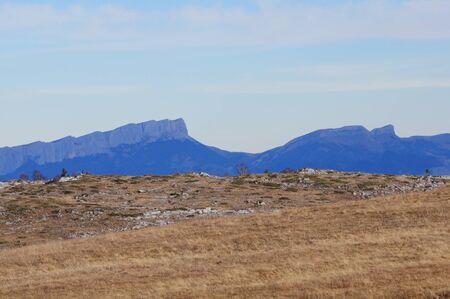 Mountain plateau  Caucasus  Russia