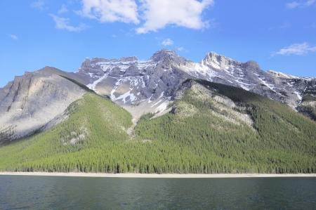 rockies: Minnewanka Lake  Canadian Rockies