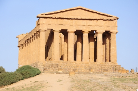 Valley of the Temples  Agrigento  Sicily  photo
