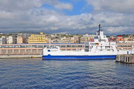 Port of Reggio di Calabria  Italy