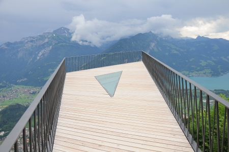 Viewpoint above Interlaken  Switzerland   photo