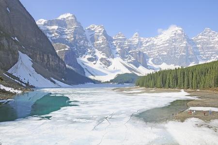 Moraine lake. Banff National park. Canada.