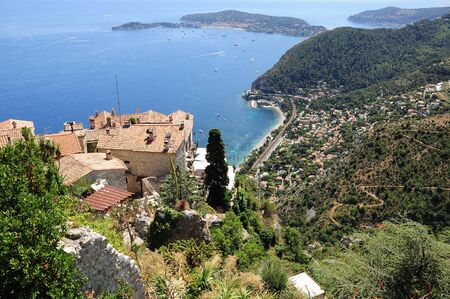 Eze Village France Archivio Fotografico