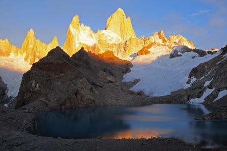 fitz roy: Fitz Roy mountain  Los Glaciares National park  Argentina