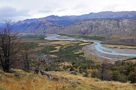 los glaciares: Los Glaciares National park  Stock Photo