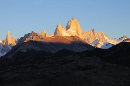 fitz: Fitz Roy mountain  Los Glaciares National park