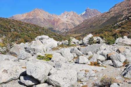 glaciares: Los Glaciares National park  Stock Photo