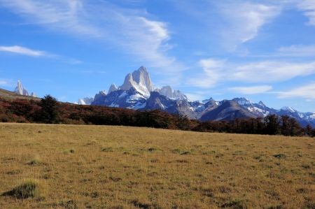fitz roy: Fitz Roy mountain  Los Glaciares National park