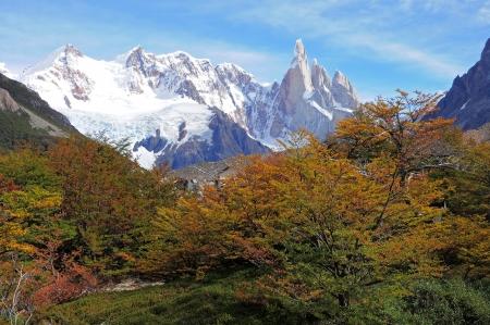 los glaciares: Cerro Torre mountain  Los Glaciares National park