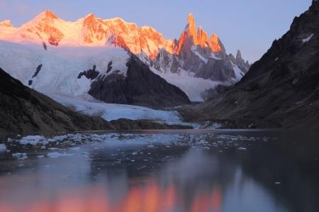 glaciares: Cerro Torre mountain  Los Glaciares National park