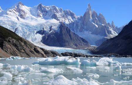 los glaciares: Cerro Torre mountain Parco Nazionale Los Glaciares