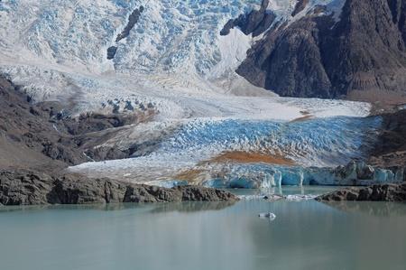 los glaciares: Grande glacier  Los Glaciares National park