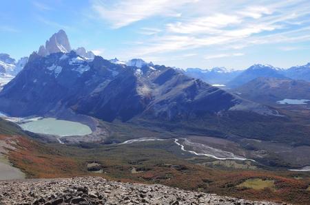 los glaciares: Parco Fitz Roy mountain Nazionale Los Glaciares