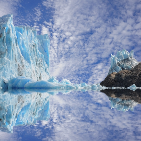 Perito Moreno glacier  Argentina  Фото со стока