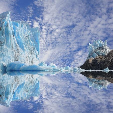 Perito Moreno glacier  Argentina  Stockfoto