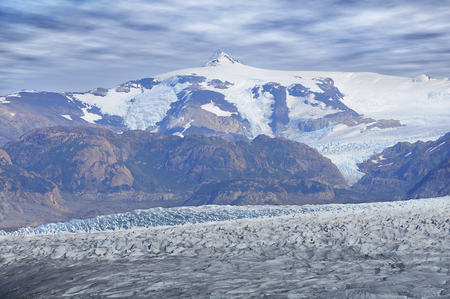 Grey glacier  Torres del Paine National park  Chile   photo