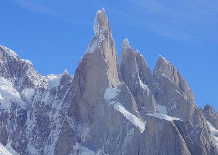 los glaciares: Cerro Torre mountain Los Glaciares Parco Nazionale Argentina