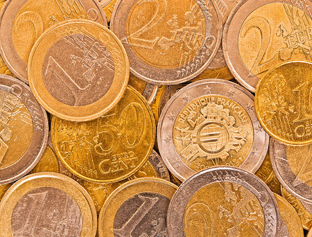 tresure: Metal coins of European Union