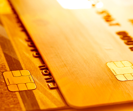Credit cards background  Stock Photo