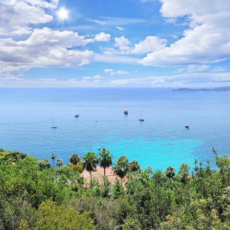 azur: Villa in Eze village  Cote d Azur  France