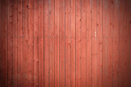 古い茶色の painded フェンス。ウッド テクスチャ背景。