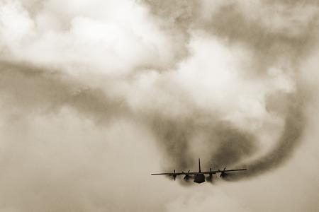 Freight military plane.