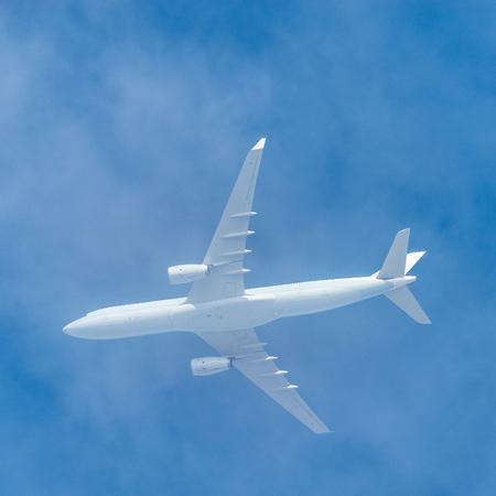 White passenger plane.