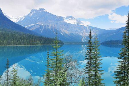 Emerald Lake. Yoho National Park. Canadian rockies.