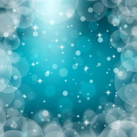 Christmas snowflakes on colorful background. Vector illustration.