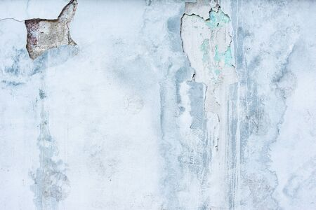 Blue and white background of the concrete wall texture. Stockfoto
