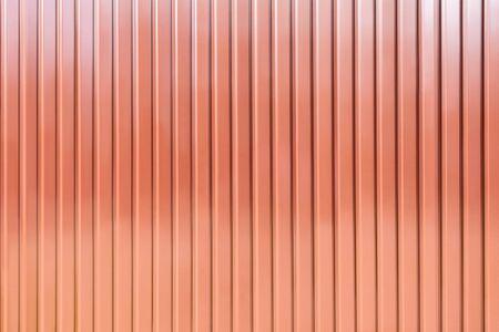 Brown metallic vertical material.