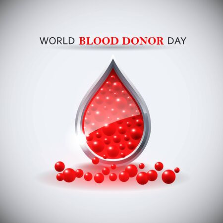 World blood donor day image.