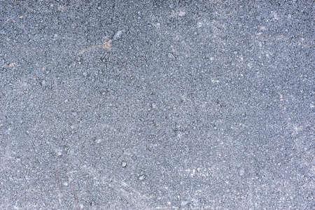 New asphalt road after construction time.