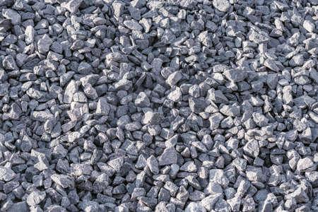 Small gray stones.