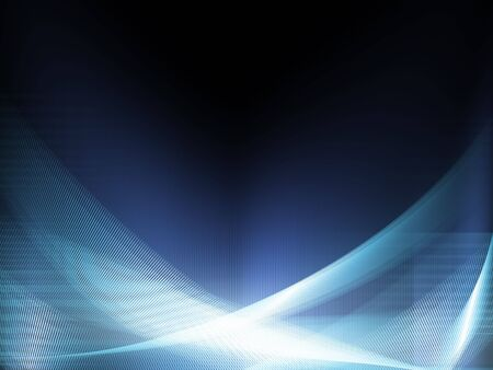 visual effect: A wallpaper made of shiny lines Stock Photo