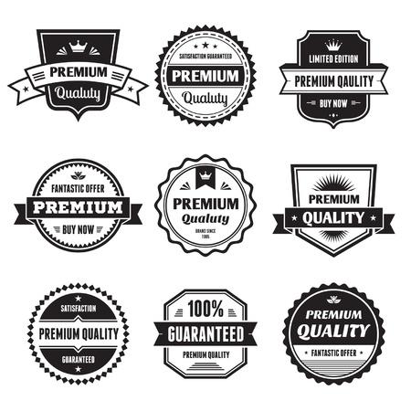 Badges Collection  Illustration