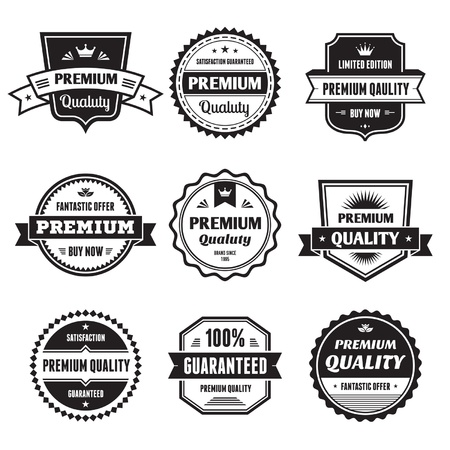 badge logo: Badges Collection  Illustration