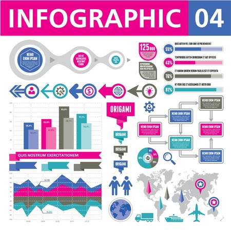 Infographic Elements 04 Vector