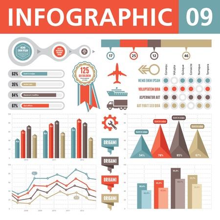 インフォ グラフィック要素