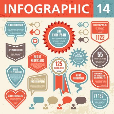 インフォ グラフィック要素 14