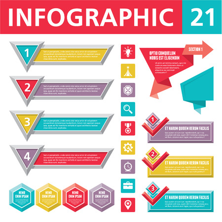 Infographics Elements 21 Illustration