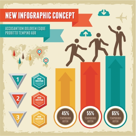 Infographic Concept Vector