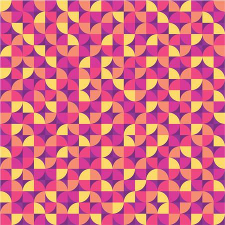 Abstract Background - Geometric Seamless Pattern Illustration