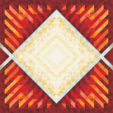 Abstract Background - Geometric Vintage Pattern Vector
