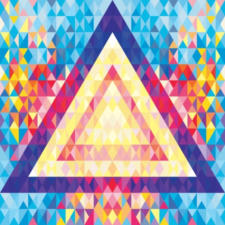 Abstract Background - Geometric Pattern - Music Flyer   Poster